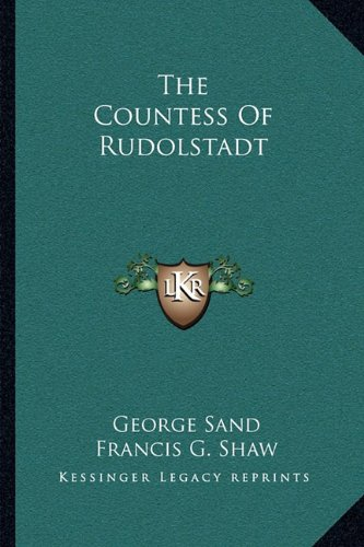 The Countess Of Rudolstadt (1163129518) by George Sand