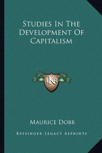 9781163133651: Studies In The Development Of Capitalism
