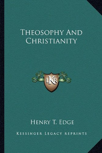 9781163133910: Theosophy And Christianity