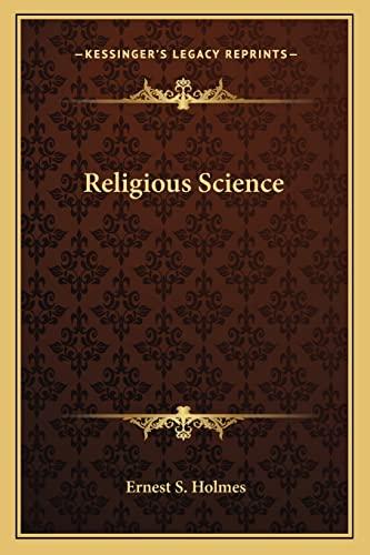 9781163139110: Religious Science