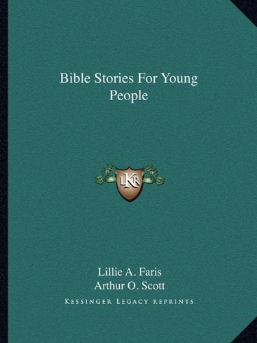 9781163140185: Bible Stories For Young People