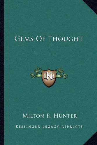 9781163140796: Gems Of Thought