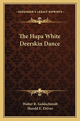 9781163142349: The Hupa White Deerskin Dance