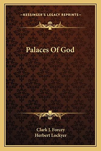 9781163143773: Palaces Of God
