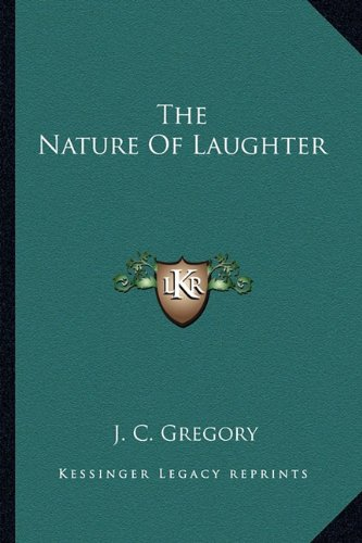 9781163145289: The Nature Of Laughter
