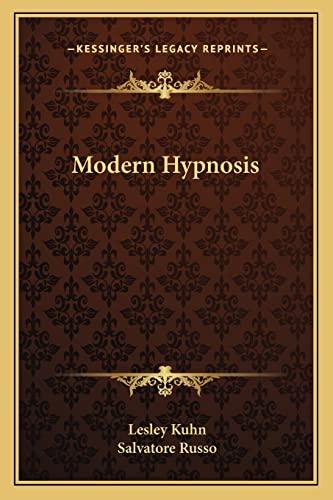 9781163152683: Modern Hypnosis