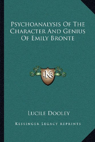 Psychoanalysis Of The Character And Genius Of
