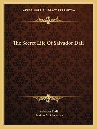 9781163173428: The Secret Life Of Salvador Dali