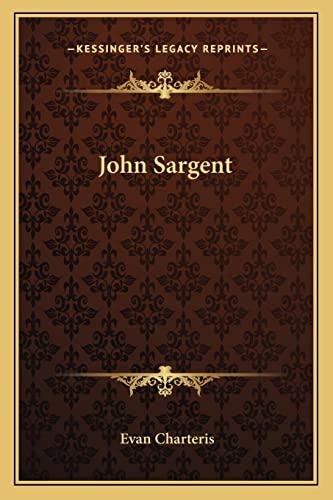 9781163176740: John Sargent