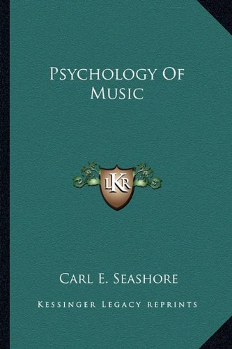 9781163179390: Psychology of Music