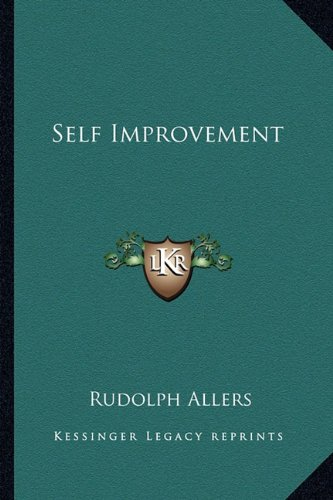 9781163191187: Self Improvement