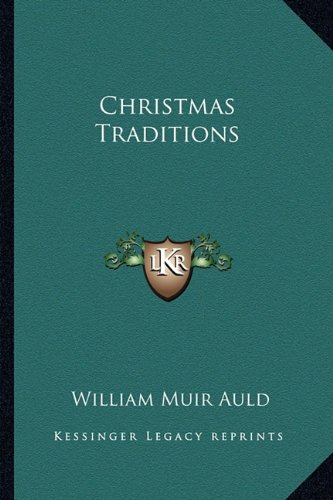 9781163192269: Christmas Traditions