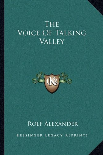 9781163195390: The Voice Of Talking Valley