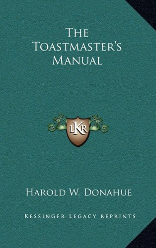 9781163199596: The Toastmaster's Manual