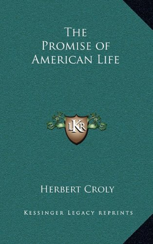 9781163201695: The Promise of American Life