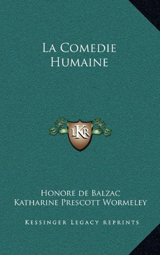 9781163201961: La Comedie Humaine