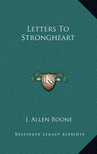 9781163203644: Letters To Strongheart
