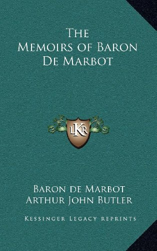 9781163203712: The Memoirs of Baron De Marbot