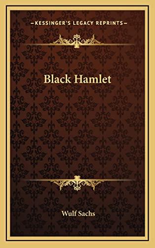 9781163217672: Black Hamlet