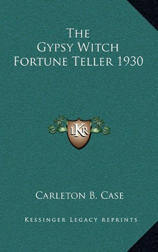 9781163218686: The Gypsy Witch Fortune Teller 1930