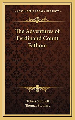 9781163221440: The Adventures of Ferdinand Count Fathom