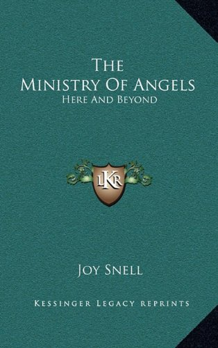 9781163221488: The Ministry Of Angels: Here And Beyond
