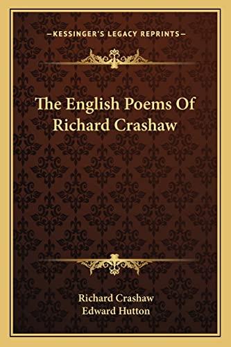 9781163234440: The English Poems Of Richard Crashaw