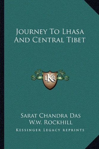 9781163238042: Journey To Lhasa And Central Tibet