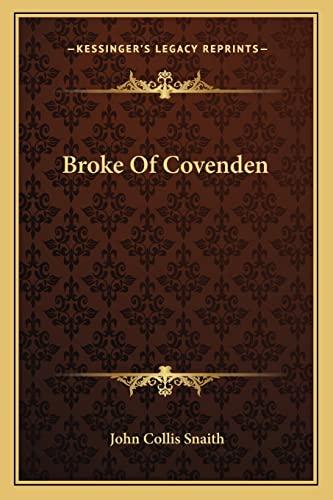 9781163308325: Broke Of Covenden