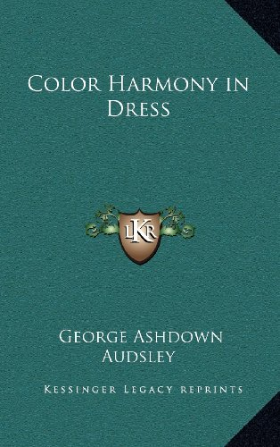 9781163313411: Color Harmony in Dress