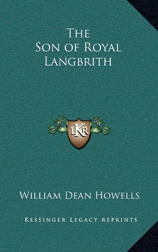 9781163322239: The Son of Royal Langbrith