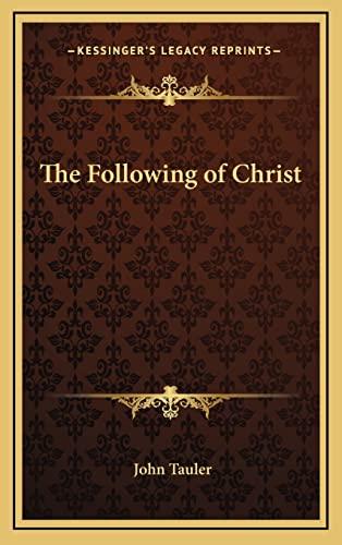 9781163322833: Following of Christ