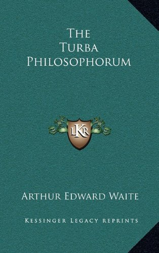 9781163322932: The Turba Philosophorum