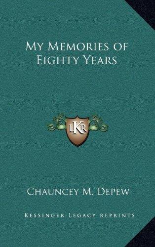 9781163327326: My Memories of Eighty Years