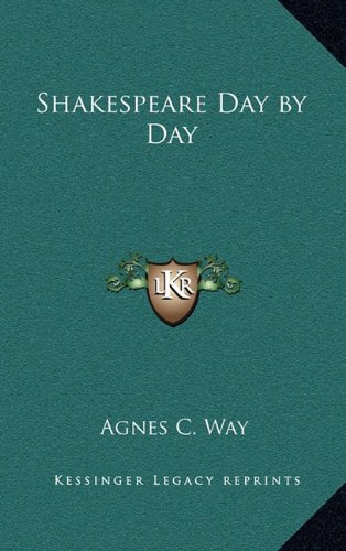9781163331729: Shakespeare Day by Day