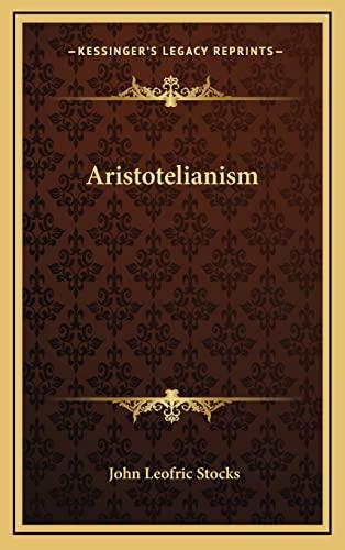 9781163334485: Aristotelianism