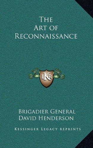 9781163335123: The Art of Reconnaissance