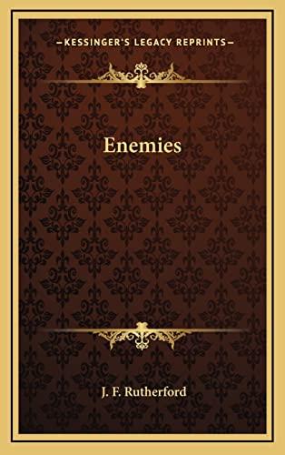 9781163348130: Enemies