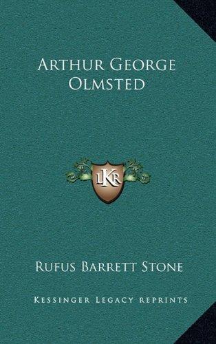 9781163349113: Arthur George Olmsted