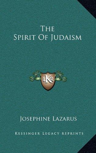 9781163356319: The Spirit Of Judaism