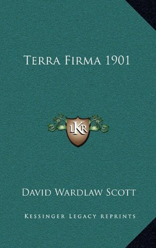 9781163364352: Terra Firma 1901