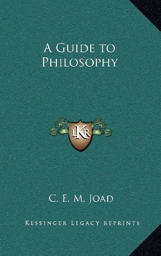 9781163371527: A Guide to Philosophy