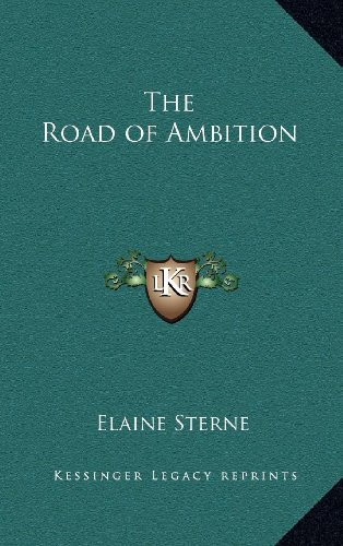 9781163380666: The Road of Ambition
