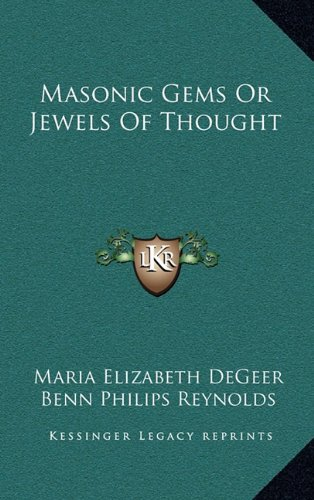 9781163385722: Masonic Gems Or Jewels Of Thought