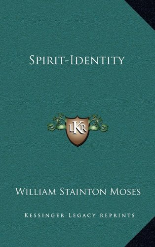 9781163403242: Spirit-Identity