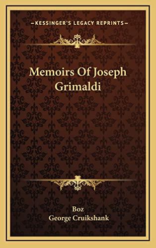9781163409305: Memoirs Of Joseph Grimaldi