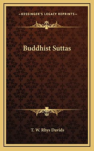 9781163409916: Buddhist Suttas