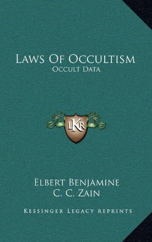 9781163410783: Laws Of Occultism: Occult Data
