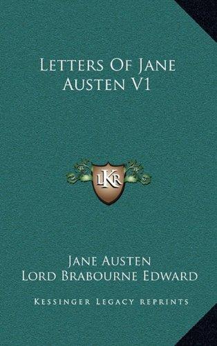 9781163412145: Letters Of Jane Austen V1