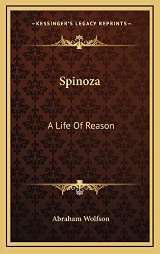 9781163419175: Spinoza: A Life of Reason